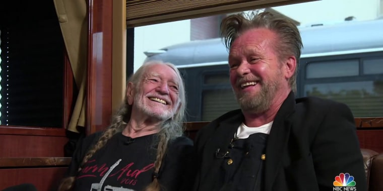 Willie Nelson and John Mellencamp talk Farm Aid and why it continues 33 years later
