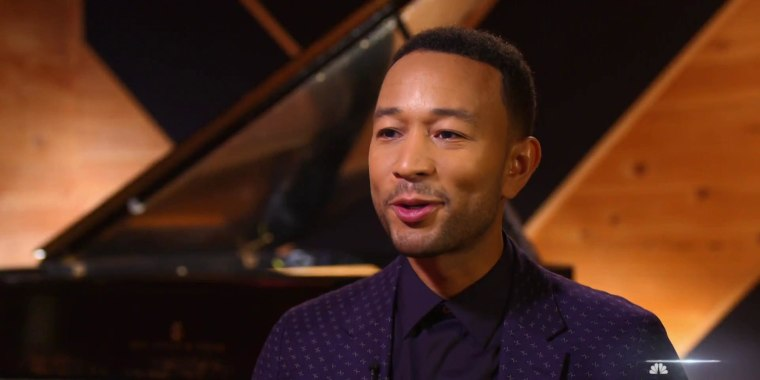 John Legend opens up about making history and taking a stand