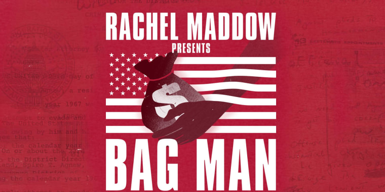 Rachel Maddow announces new Bag Man podcast
