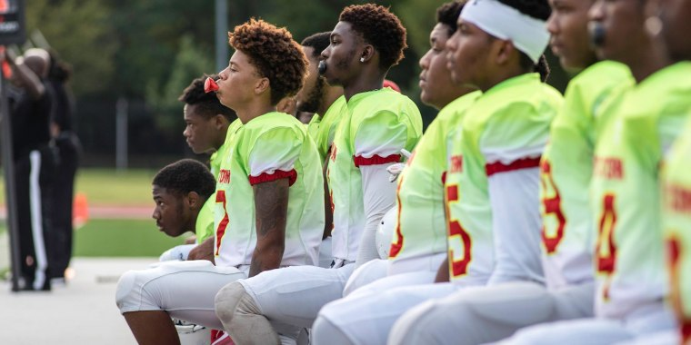 United we kneel: Teens use football to protest police brutality