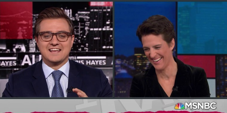 Pre-podcast jitters plague Maddow ahead of Bag Man launch
