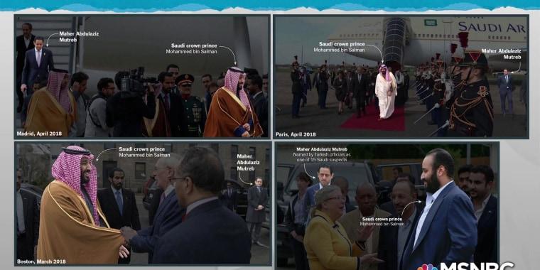 Photos of suspect with prince defy Trump/Saudi rogue killer story: NYT