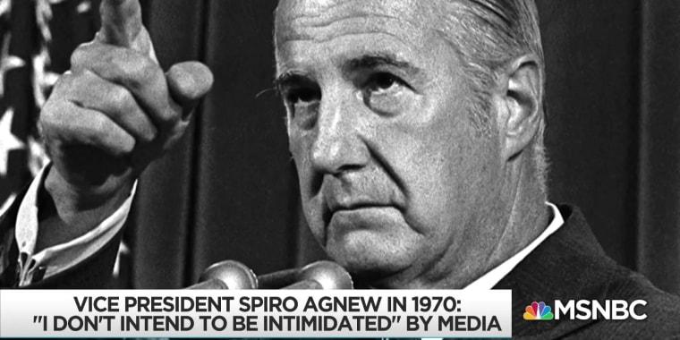 Uncanny return of Agnew's politics the basis of 'Bag Man' podcast