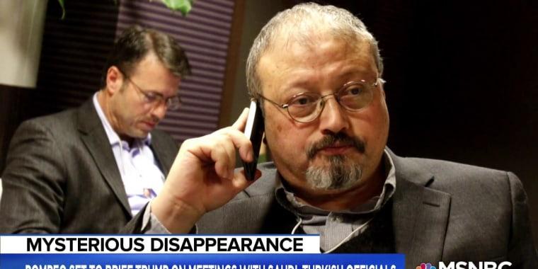 President Trump continues to downplay Khashoggi's disappearance