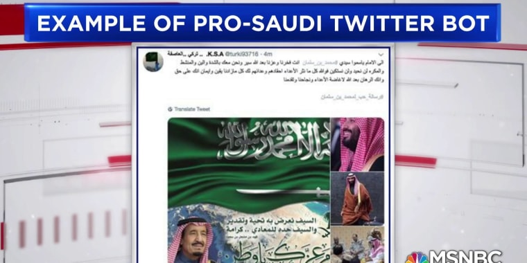 Exclusive: Twitter removes pro-Saudi bots after Khashoggi disappearance