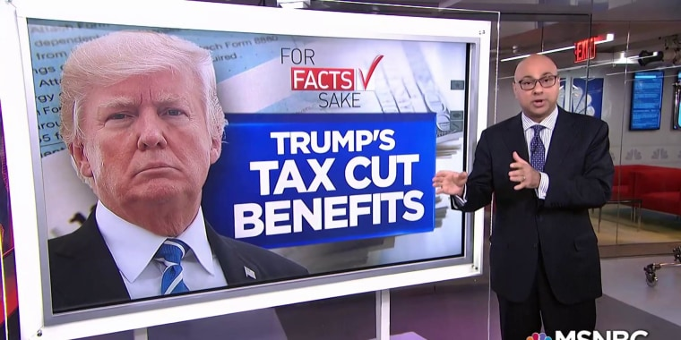 For Fact's Sake: Trump's new tax cut can't come anytime soon