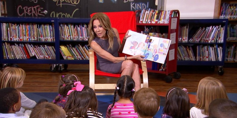 Watch 1st graders tell Kathie Lee about the gifts they have to give