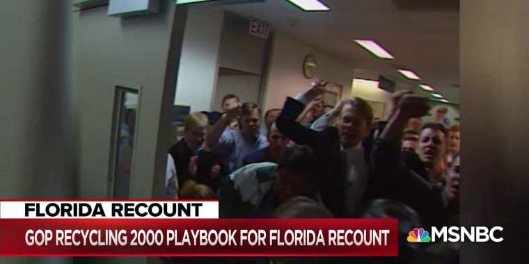 GOP tactics in FL recount: Protests, lawsuits, false fraud claims