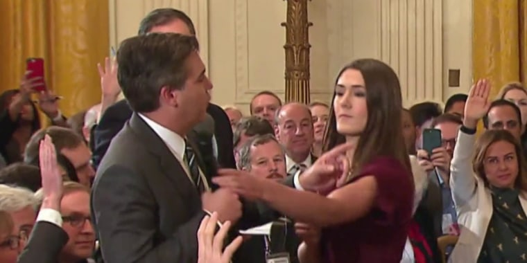 CNN suing White House for revoking Jim Acosta's press credentials