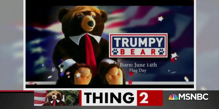 Chris Hayes: The truth about Trumpy Bear