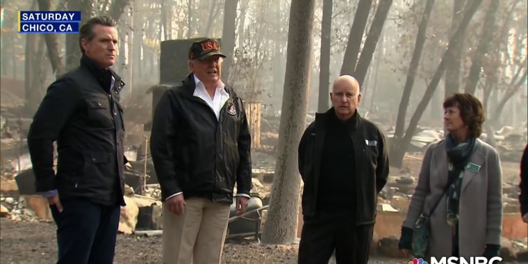 California congressman slams Trump for saying wildfires could be prevented 'by raking leaves'
