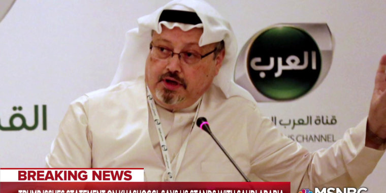 Maddow: Trump defies CIA with lie about Saudi role in Khashoggi murder