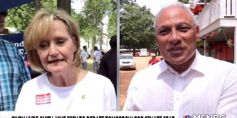 Polls show tightening race in Mississippi Senate run-off
