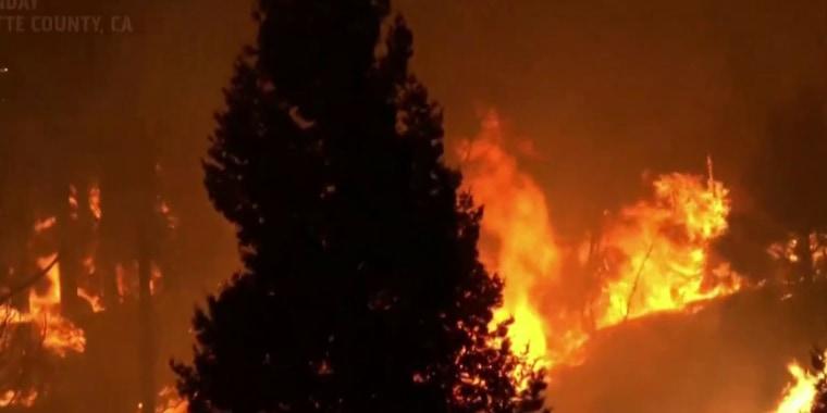 As wildfires rage, Trump attacks California