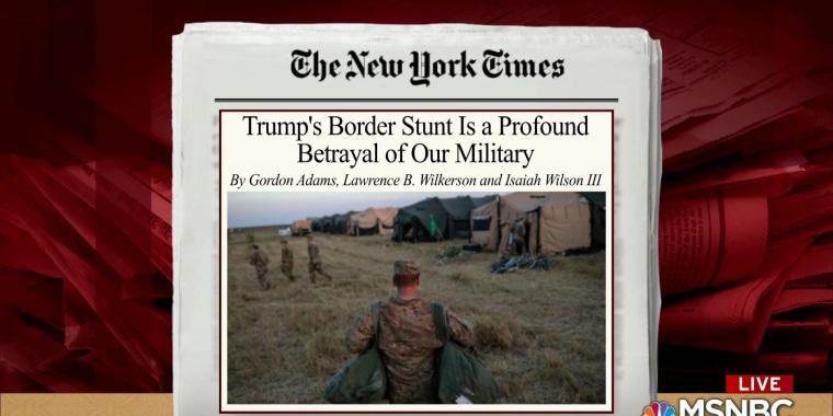 Trump use of troops unconscionable: Ret. Army colonel