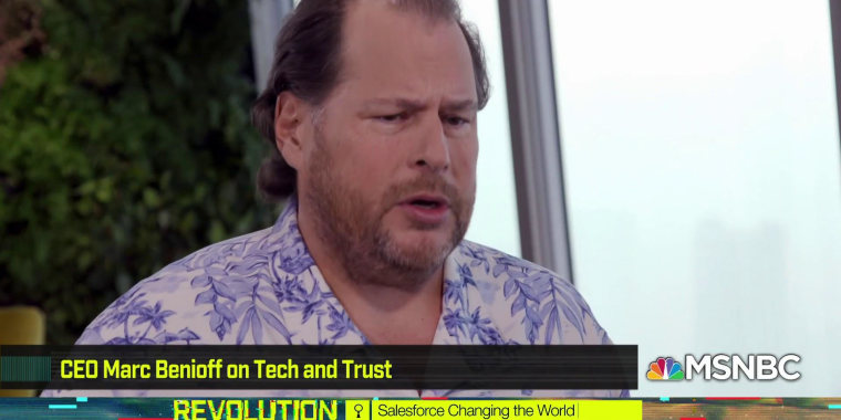 Salesforce CEO on why tech leaders need to do more