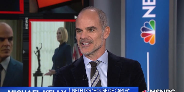 'House of Cards' star talks real-life political drama