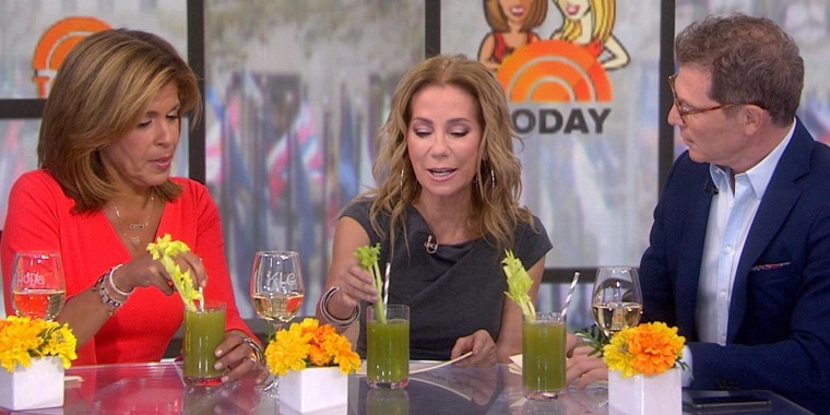 Why Kathie Lee Gifford started drinking celery juice for breakfast
