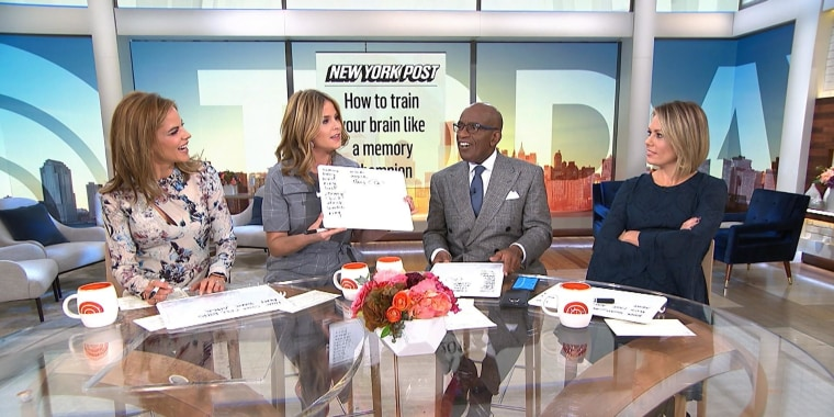 TODAY anchors put their memories to the test