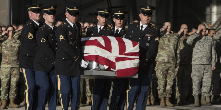 Maj. Brent Taylor remembered for compassion and commitment at memorial