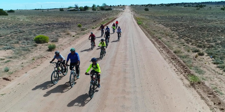 Mountain biking group blazes new trails for the Navajo Nation