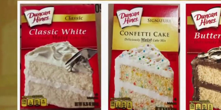 Duncan Hines recalls cake mix over salmonella concerns