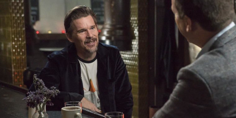 Ethan Hawke: Robin Williams gave me 'first taste of what acting could be'