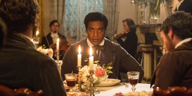 Chiwetel Ejiofor stars as Solomon Northup in 12 Years a Slave.