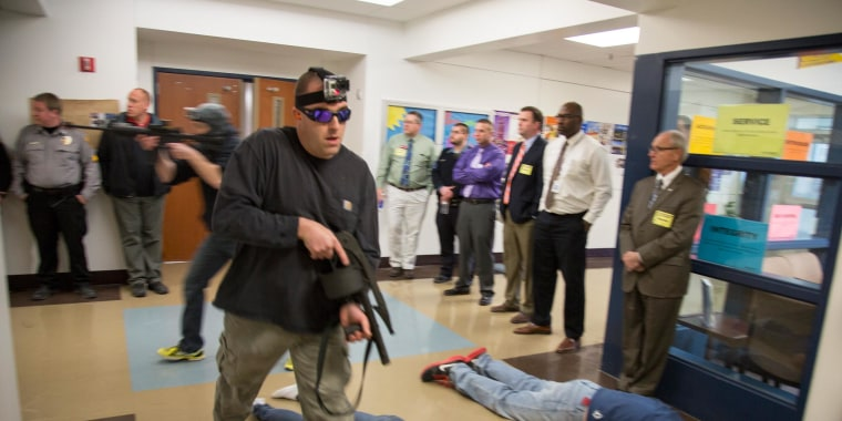 Image result for school shooting drills