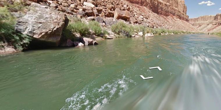Image: Google explores the Colorado River through the Grand Canyon