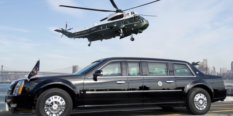 Image result for the beast us president car
