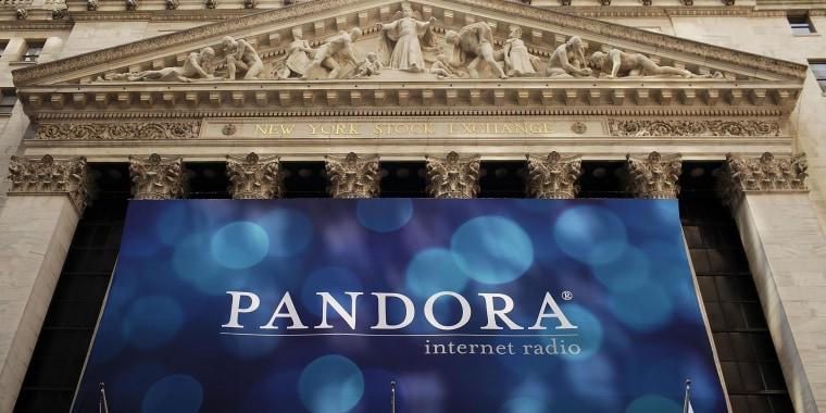 Image: A banner for Pandora