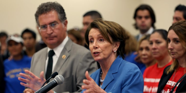 Image: Nancy Pelosi Attends Fast For Families Event In Support Of Immigration Reform