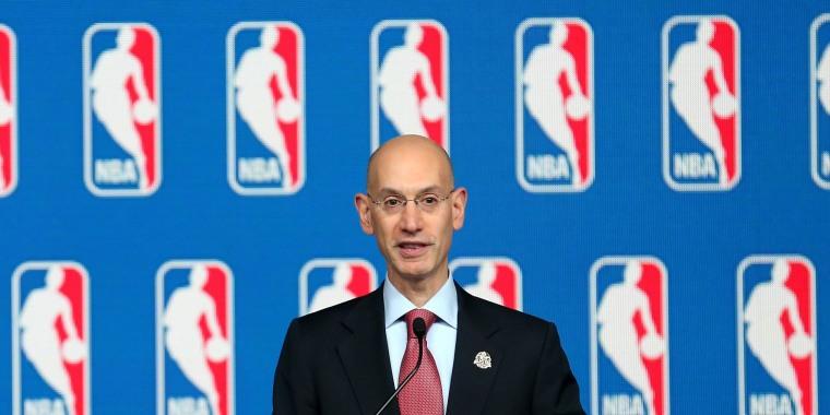 Image: NBA Commissioner Adam Silver