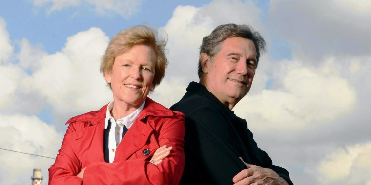 Image: Lynne and Tim Martin