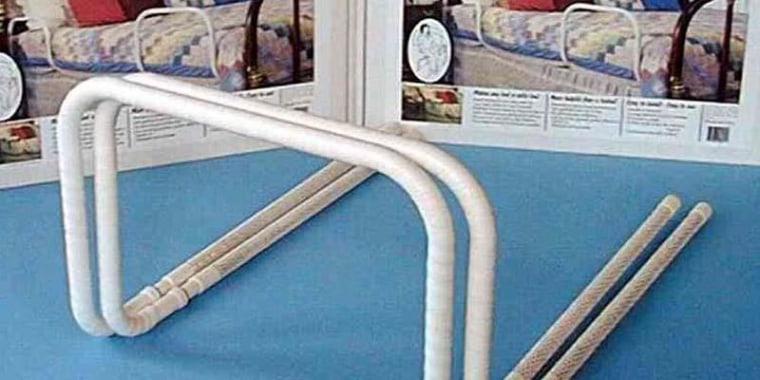 Image: Adult portable bed handles recall Bedside Assistant model BA11W
