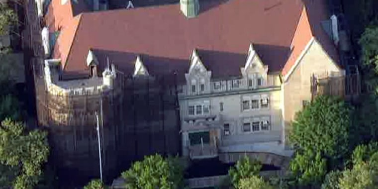Image: A teacher at PS 315 in New York told officers she thought the poison had been put in her water bottle during class Monday.