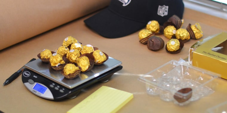 Image: Narcotics were disguised inside these candies.