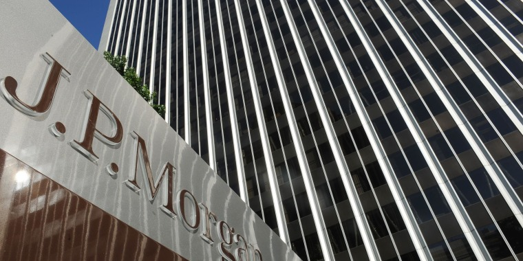 JPMorgan Chase offices in Los Angeles. The California city has sued the bank alleging discriminatory practices in loans to minority customers.
