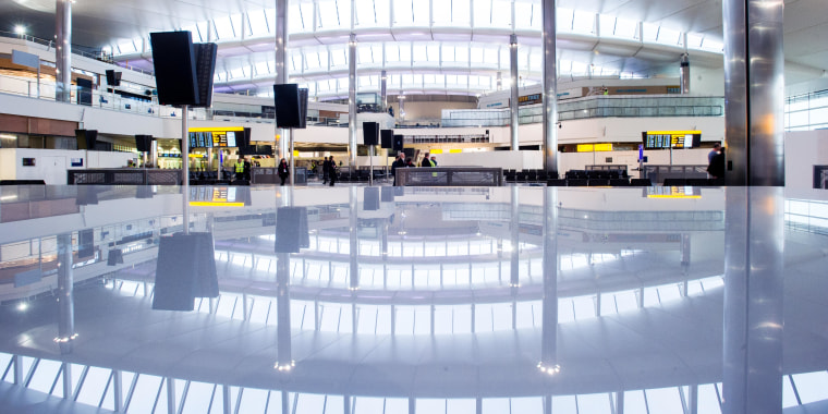 London Heathrow Airport's new Terminal 2 officially opens Wednesday with the arrival of the first United Airlines flight.