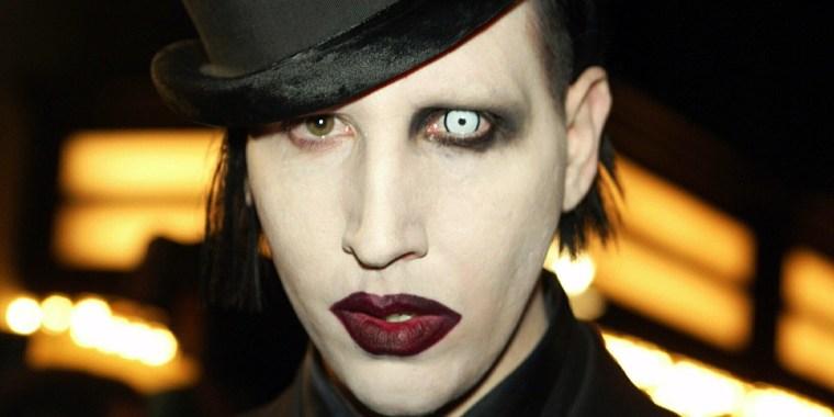 Image: Rock star Marilyn Manson