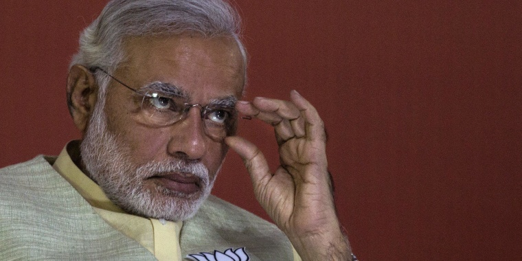 Image: BJP Leader Narendra Modi Announces Party Manifesto For Forthcoming Election
