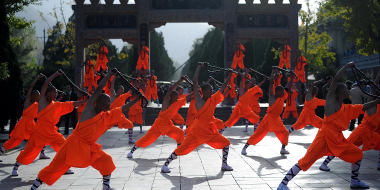 Shaolin wushu festival kicks off in central China