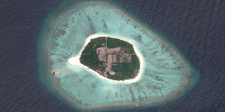 Image: The island of Orivaru, in the Maldives, for sale for $14 million