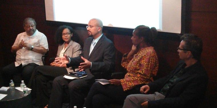 Image: Nicholas Jones of US Census Bureau addressing the Afro-Latino Panel