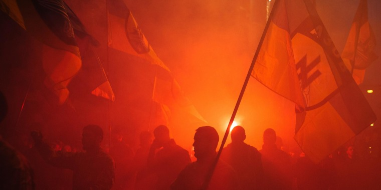 Image: A rally in Kiev