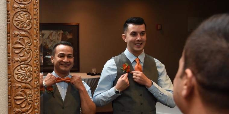 Image: Same-Sex Couples Marry In Las Vegas After Court Ruling