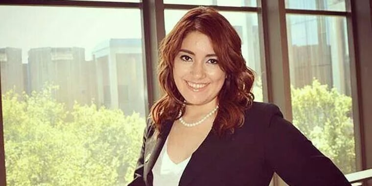 Claudia Victoria Lemus, a University of Texas student, is interning at NBC News Washington.