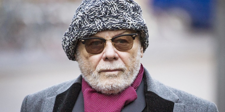 Image: Gary Glitter Appears At Southwark Crown Court To Face Charges Of Sex Offences