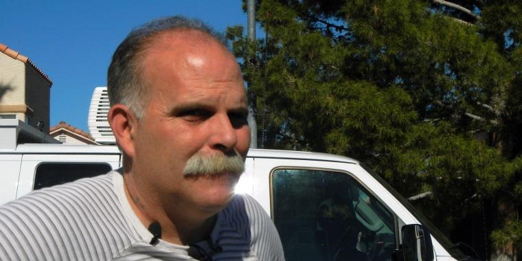 Image: Robert Meyers,  husband of road rage victim Tammy Meyers